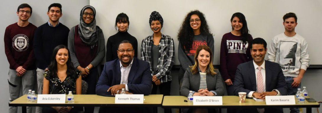 Alumni in the law panel