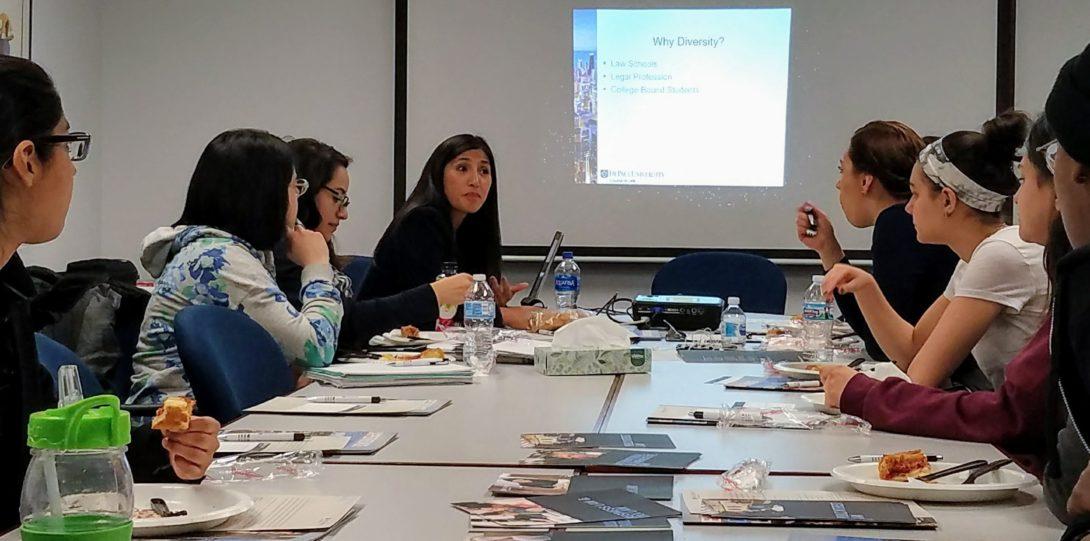 DePaul Law School visits UIC