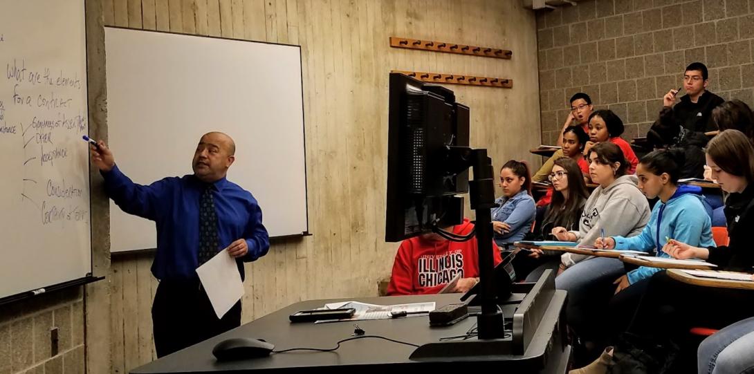 JMLS mock class at UIC