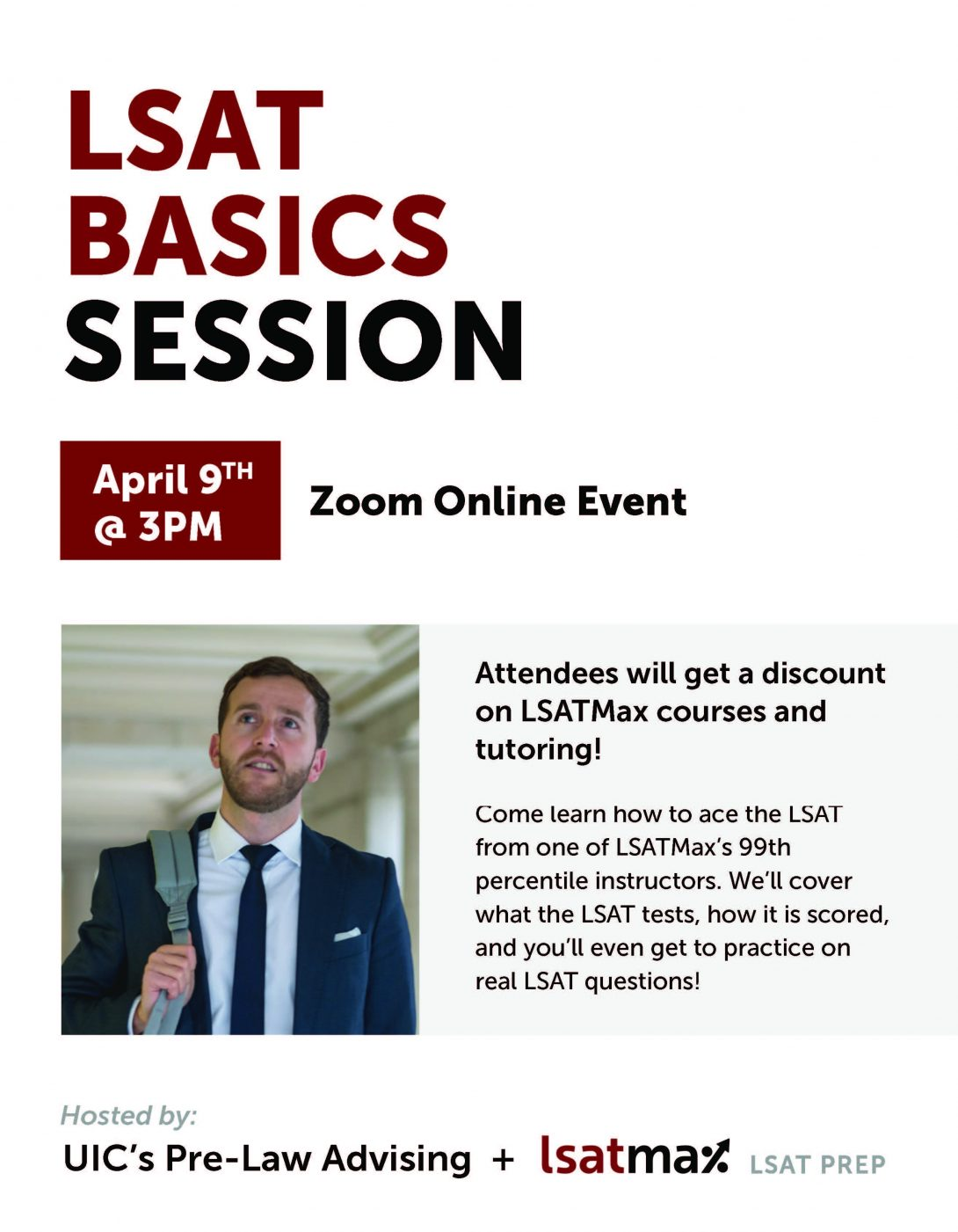 LSAT basics session with LSAT Max
